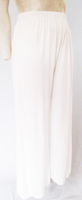 Ivory very wide leg jersey pants ±(B247)