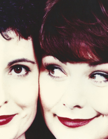 Dawn French & Helen Teague